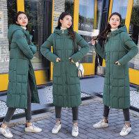 羽绒棉衣服女中长款棉袄女韩版宽松bf学生冬季外套女加厚