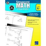 英文原版 新加坡数学挑战,4-6年级 Singapore Math Challenge, Grades 4 - 6