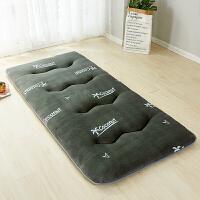 学生宿舍床垫法兰绒床褥子单人床0.9m1米0.8上下铺地铺睡垫1.2米