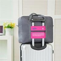 3件7折短途旅行袋包可折叠多功能拉杆行李袋便携手提袋大容量行李包男女 大