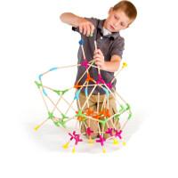 智库儿童玩具益智积木3-6周岁男女小孩组合拆装构建大师搭搭乐