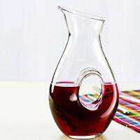 Bormioli Rocco 意大利原装进口欧朗姆水晶玻璃制醒酒器 分酒器 1500ml 1只装