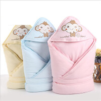 婴儿包被纯棉秋冬季加厚可脱胆初生宝宝抱毯包巾襁褓新生儿抱被5ga