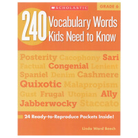 【六年级】240 Vocabulary Words Kids Need to Know Grade 6 学乐词汇练习册
