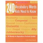【六年级】240 Vocabulary Words Kids Need to Know Grade 6 学乐词汇练习册