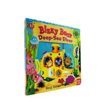 Bizzy Bear: Deepsea Diver 忙碌的小熊纸板活动书:深海潜水员