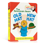 英文原版 The Berenstain Bears Old Hat New Hat 贝贝熊系列 旧帽子新帽子 Brig