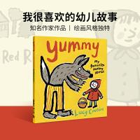 小鼠波波作者Lucy Cousin作品 Yummy: My Favourite Nursery Stories 英文原版