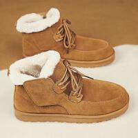 冬季雪地靴男加绒保暖加厚东北棉鞋男士防水马丁棉靴冬天面包男鞋