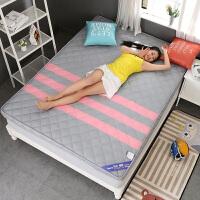可折叠床褥床垫1.5m床1.8m单人1.2米学生宿舍榻榻米海绵床睡垫子