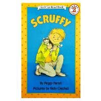 英文原版 Scruffy 小邋遢 (I Can Read,Level 2) [4-8岁]