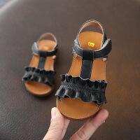 女童凉鞋夏季小宝宝公主鞋学步鞋子软底1-3岁真皮儿童0一2婴儿幼