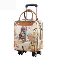 拉杆旅行包女手提包韩版短途轻便大容量行李包女旅游包登机拉杆包