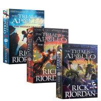 【3册】阿波罗的审判系列 黑暗寓言 英文原版 The Trials of Apollo Book The Hidden