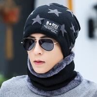 帽子男士冬季保暖针织帽冬天青年套头韩版护耳帽加绒棉帽潮毛线帽