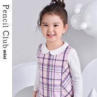 【秒��r:39元】�U�P俱�凡客��b2020新款女童秋�b�B衣裙�和�裙子�棉小女孩格子裙