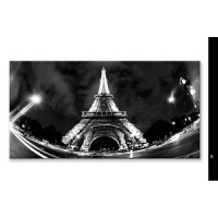 黑白城市摄影风景床头画客厅挂画沙发背景墙装饰挂画配电箱装饰画