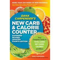 【预订】Dana Carpender's NEW Carb and Calorie Counter-Expanded,