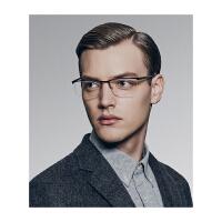 保圣(PROSUN)光学镜架男士半框眼镜架商务休闲眼镜框PJ8008 B70砂深蓝