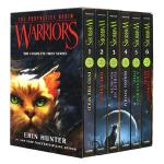 猫武士一部曲1-6册盒装英文原版小说 Warriors Box Set Volumes 1 to 6 英版沈石溪 中小