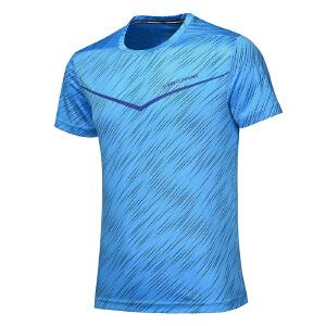 【每满100减50】361度男装正品运动短袖速干夏季新款361透气圆领短袖T恤