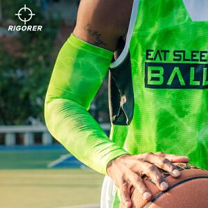 准者新款运动护臂护肘 透气加长篮球护臂护肘骑行运动装备单只装