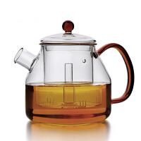 耐热玻璃蒸汽茶壶煮茶器电陶炉花茶黑茶烧水泡茶壶茶具玻璃蒸茶煮茶壶