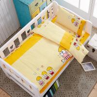 幼儿园卡通纯棉三件套全棉儿童被褥被套男女宝宝午睡婴儿床六件套 加厚
