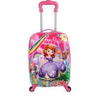 儿童拉杆箱18寸万向轮冰雪公主苏菲亚女童行李箱19寸小学生旅行箱