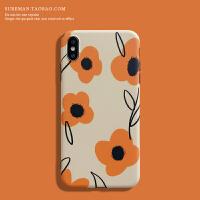 日韩文艺iPhone6s/7/8plus手机壳苹果 max软壳xr保护套6潮女壳7
