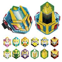 梦想三国玩具英雄牌黄金版传奇手表变身器刘备赵云儿童机器人玩具
