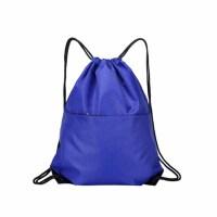 简约抽绳束口袋双肩包培训书包背包袋子运动防水