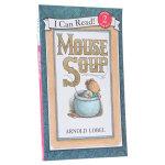 顺丰发货 (99元5件)汪培�E推荐第三阶段英文原版I Can Read, Level 2 Mouse Soup 老鼠汤