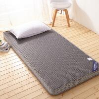 ???榻榻薄床垫 单双人学生宿舍席梦思折叠海绵床垫褥子