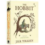 霍比特人 彩色插图版 英文原版小说 The Colour Illustrated Hobbit 魔戒指环王前传 托尔金