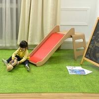 明德田�@大��h保草坪�y泡沫地�|家用�P室客�d�和�拼接覆膜�地�| �G色 草坪�y
