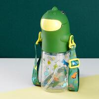 吸管杯宝宝学饮杯带手柄婴儿保温杯喝水杯儿童水壶