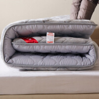 策序家纺 6cm加厚法莱绒床垫床褥榻榻米垫被学生宿舍单人双人1.5m 1.8米床褥子