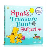 【全店300减100】英文原版 Spot's Treasure Hunt Surprise 小不点的寻宝奇遇 儿童趣味启