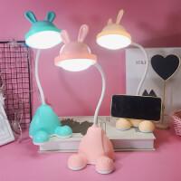 小学生学习写字台灯桌面LED充电小台灯便携宿舍床头灯起夜喂奶灯