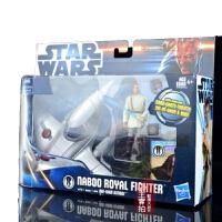 星球大战3.75寸可动人偶模型 白兵 载具 买之前确认了解本系列 绝版欧比旺盒装