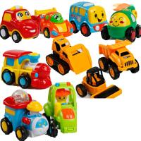 儿童玩具车工程消防车套装回力惯性小汽车模型飞机男孩宝宝2-3岁
