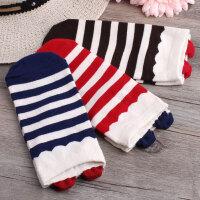 夏季日系可爱袜子耳朵少女棉质女士短袜浅口运动袜隐形船袜条纹袜