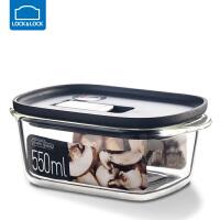 �房�房勰�岵AПur盒�L方形�盒冰箱水果���w收�{盒保�r��饪� 550ml【黑色】 LLG940BLK