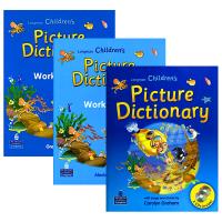 正版进口朗文英语彩图词典 英文原版 Longman Children's Picture Dictionary Pea