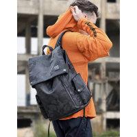 潮流韩版简约休闲旅行电脑背包男迷彩大学生书包男双肩包男士时尚