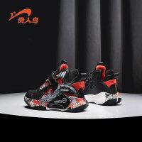 【1件2折:74.9元】贵人鸟儿童篮球鞋2021新款战靴小学生中大童运动鞋男童鞋子春秋款