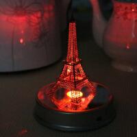 巴黎埃菲尔铁塔送朋友创意礼物全金属拼图3D立体DIY建筑拼装模型