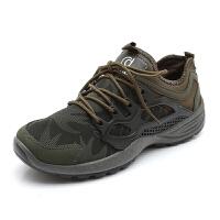 新款徒步鞋防水登山鞋男�\�勇糜涡��敉廨p便�底耐磨越野跑鞋百搭男�\�有�