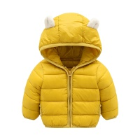 婴儿六七八个月轻薄羽绒儿童短款棉外套男女宝宝冬装1-2-3岁4
